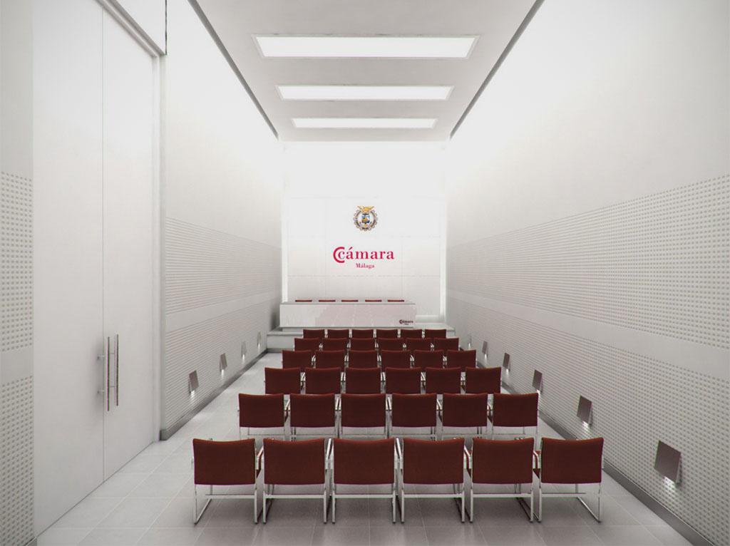 3D para la Cámara de Comercio de Málaga - foto 1