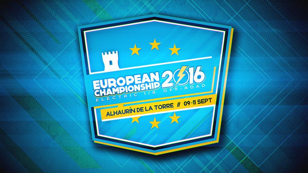 cartel para el Campeonato Europeo RC 1/8 TT ECO 2016 - foto 2