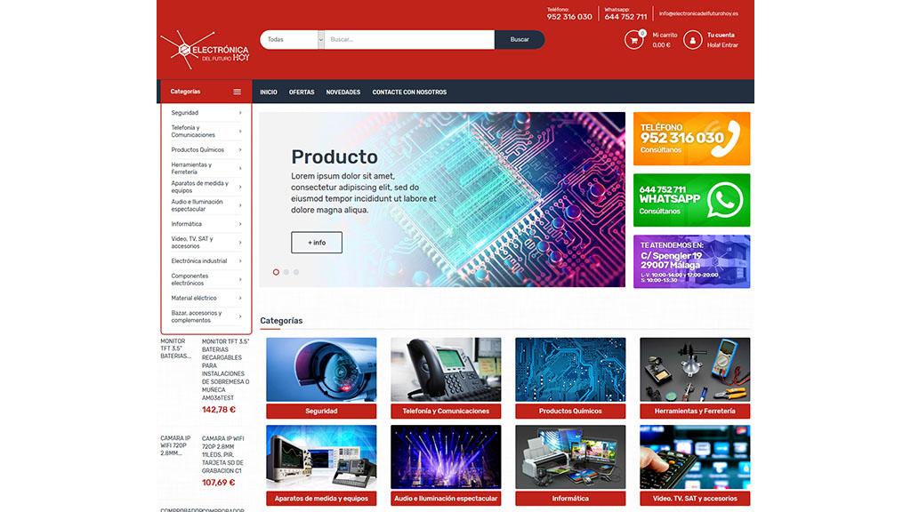 Tienda online para Electrónica del Futuro Hoy - foto 1