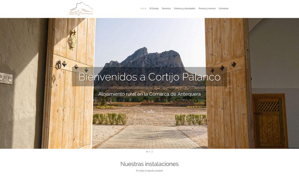 Web Cortijo Palanco - foto 1