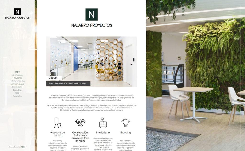 Web Najarro Proyectos - foto 1