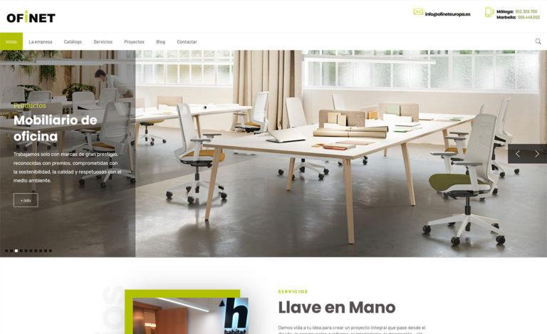 web para ofinet - foto 5